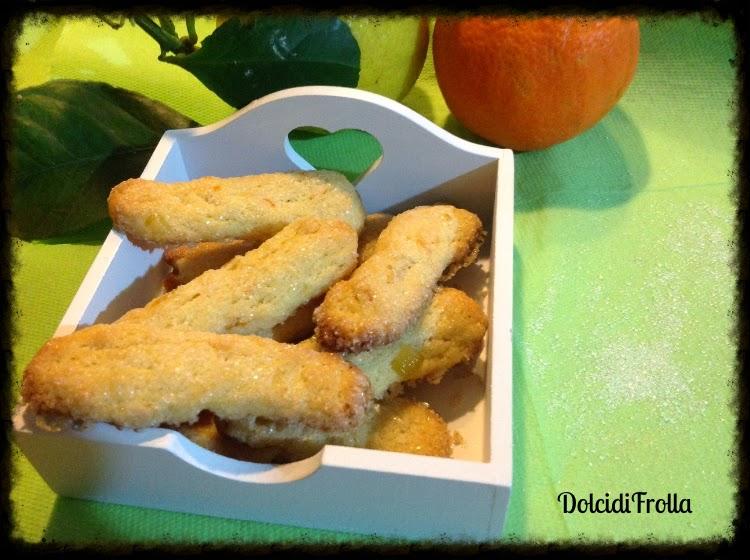 Biscotti del Sud con arance biologiche