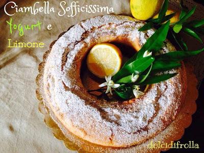 CIAMBELLA SOFFICISSIMA  Yogurt e Limone
