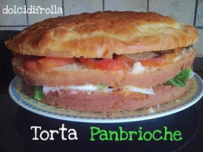 TORTA PANBRIOCHE di Delia