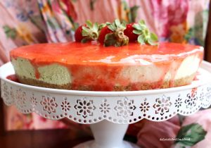 torta yogurt pistacchio