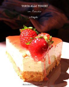 torta fragole e pistacchio